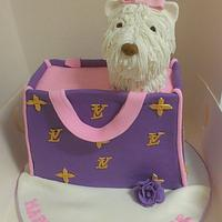 puppy bag  by jodie baker