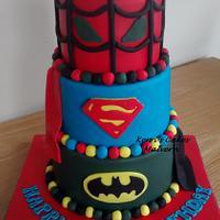 3 tier Superhero x