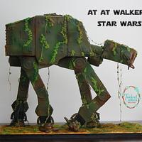 AT AT ( Star Wars) Cake