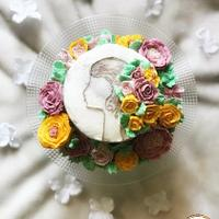 Belle fille -Caker buddies collaboration- buttercream