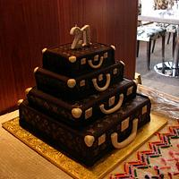 Louis Vuitton Alzer Stack Cake