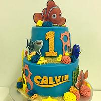 Finding Nemo 1st Birthday