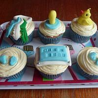 It's a Boy! cupcakes by CupNcakesbyivy