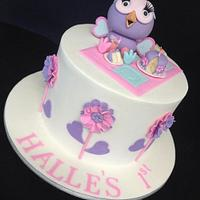 Hooterbelle for Halle by Unusual cakes for you