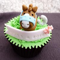 Horse Themed Cupcakes by Sharon Todd