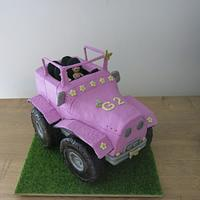 The Pink Jeep