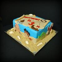 Jake and the Neverland Cake