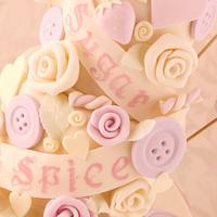 Sugar and Spice and All Things Nice Cake (mini version!) by Little Cherry