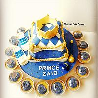 Royal pillow cake