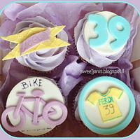 Cupcakes...bike lovers