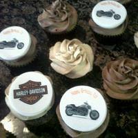 Harley Cupcakes