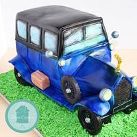 1920 Silver Ghost Car Cake