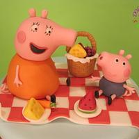 I am Peppa Pig!