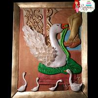 Swan of the Beautiful Sri Lanka