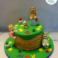 Super Mario 3D World Cake