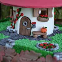 SweetAutumnCollaboration2016-little dwarf house by Taartjesenco
