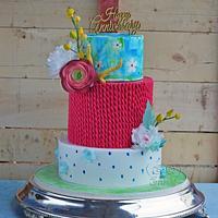 Anniversary cake!!