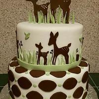 Willow Organic Baby Shower Cake