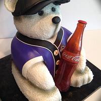 Colorado Rockies Coca Cola Bear