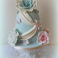Flower Fusion Cake