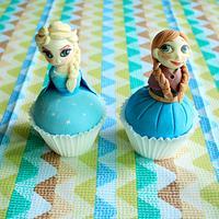 frozen cupcakes!