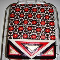 Traditional design cake