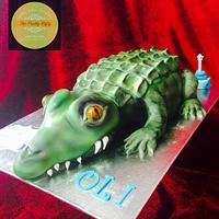 Crocodile for Oli