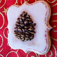 Piña de Navidad