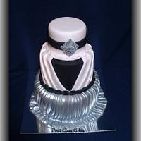 Pleated Dress Cake