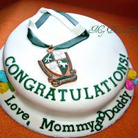 Graduation Cake by Donna Dolendo