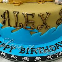 Jake and the netherland pirate by Love it cakes