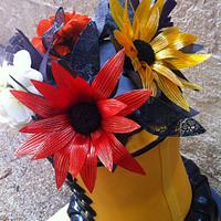 Fashion and flowers  by Fancy A Treat