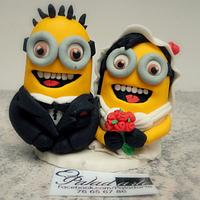 Minion Wedding Topper