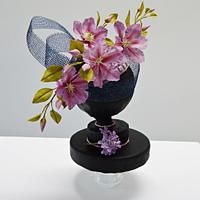 (Hats Off: A Royal Affair collaboration) Purple beauty