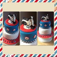 Lambretta MOD cake