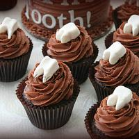 My First Tooth Cake and Cupcakes by Cupcations