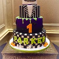 Jack Skellington/Halloween 1st birthday Cake
