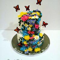 Spring Flowers by Simply Delicious Cakery