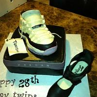 Jordan & High Heel Shoe Cake