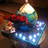 superman cake by mick