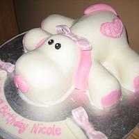 Puppy Dog Cake Birthday Cake by Kristen