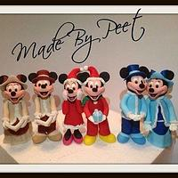 All of my mickey's and minnie's
