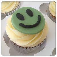 NAS Smiley Face Cupcakes