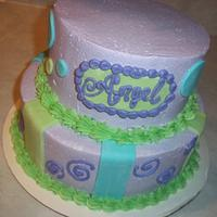 Purple Lover Cake by cakes by khandra