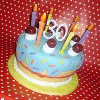 Whimsical birthday cake cake!!