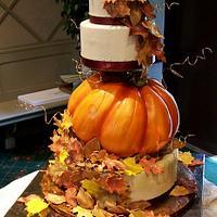 Fall Pumpkin Leaves