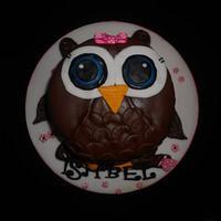 Chocolate Owl cake  by Sheena Barker