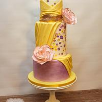 Zuhair Murad Inspired Cake - Patreon Cake Competition