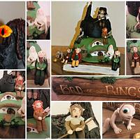 Lord of the rings cake  by jennie