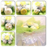 white and yeloow mother's day bouquet